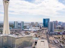 Башня стратосферы в Лас-Вегас стоковые фотографии rf