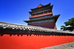 Башня строба Китая Пекин Стоковые Фото