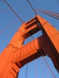 башня строба моста золотистая Стоковое фото RF