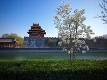 башня строба Пекин запрещенная городом Стоковое Изображение RF
