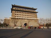 Башня строба Пекин Стоковые Фото