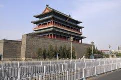 Башня строба Пекин Qianmen Стоковые Изображения RF