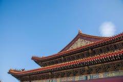 Башня строба Тяньаньмэня музея дворца Пекина имперская стоковое фото