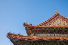 Башня строба Тяньаньмэня музея дворца Пекина имперская стоковые фото