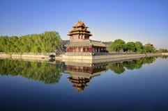 башня строба фарфора Пекин запрещенная городом Стоковое Изображение