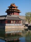башня строба фарфора Пекин запрещенная городом Стоковые Изображения