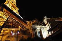 башня США vegas ресторана las eiffel Стоковое Изображение RF
