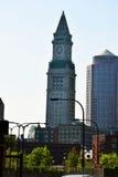 Башня с часами Бостона Стоковые Изображения RF