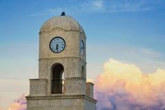 Башня с часами бульвара стоимости Стоковые Фото
