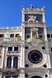 Башня с часами Венеции Стоковое Изображение RF
