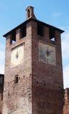 Башня с часами, Верона Стоковые Фотографии RF