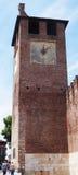 Башня с часами, Верона Стоковые Фото