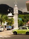 Башня с часами Виктории, Сейшельских островов Стоковая Фотография RF