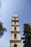 Башня с часами в Бурсе, Турции стоковое фото