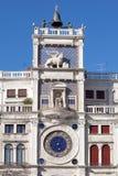 Башня с часами в Венеции Стоковые Фотографии RF