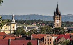 Башня с часами в конематке Baia Стоковые Изображения
