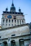 Башня с часами в Sighisoara Стоковые Фотографии RF