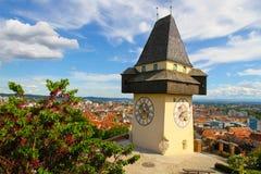 Башня с часами Грейса Стоковое Фото