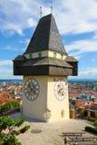 Башня с часами Грейса Стоковые Фотографии RF