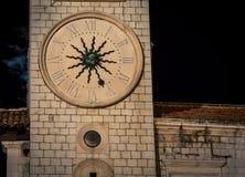 Башня с часами Дубровник Стоковые Изображения RF