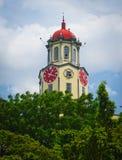 Башня с часами здание муниципалитета Манилы Стоковая Фотография