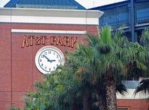 Башня с часами короля Улицы парка бейсбола AT&T Стоковое фото RF
