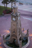 Башня с часами на Daytona Beach, прокладка Флориды Стоковое фото RF