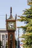 Башня с часами пара Otaru Стоковое Изображение RF