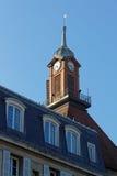 Башня с часами старого монастыря Стоковые Изображения RF
