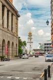 Башня с часами юбилея, в городке Джордж, Penang, Малайзия Стоковое Фото