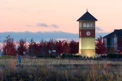 Башня с часами стоковое изображение
