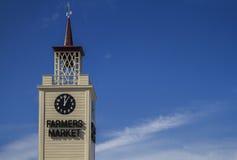 Башня с часами Стоковая Фотография