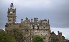 Башня с часами Balmoral Стоковая Фотография