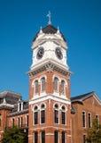 Башня с часами Covington Стоковая Фотография RF