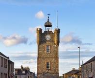 Башня с часами Dufftown. Стоковое Изображение RF