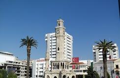 Башня с часами Izmir стоковое изображение