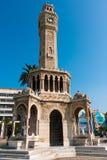 Башня с часами, Izmir Стоковые Изображения RF
