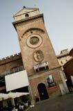 Башня с часами Mantova Стоковые Фотографии RF