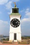 Башня с часами, Novi унылое стоковое фото