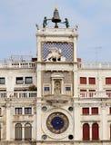 Башня с часами St Mark в Венеции Стоковая Фотография