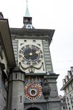 Башня с часами Zytglogge в Берне Швейцарии стоковые изображения