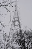 Башня ТВ парка Camlica Стоковое фото RF