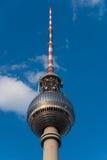 башня телевидения купола berlin стоковая фотография rf