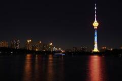 башня телевидения Центрального Китая cctv стоковая фотография