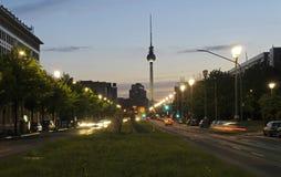башня телевидения Стоковые Фотографии RF