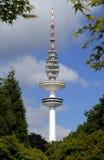 башня телевидения hamburg стоковое изображение rf