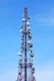башня телекоммуникаций Стоковое Изображение RF