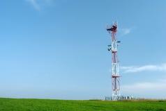 башня телекоммуникаций gsm Стоковые Изображения RF