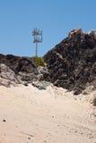 башня телефона пустыни клетки Стоковые Фотографии RF