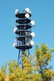 башня телефона Стоковые Изображения